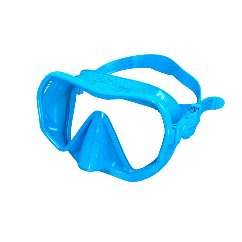 SEAC TOUCH Frameless Diving Low Volume Mask with Opaque Silicone Skirt