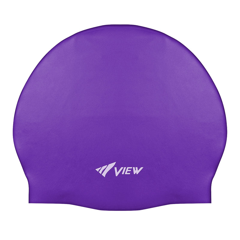 TUSA View Hypoallergenic Silicone Solid Color Swimming and Watersports Cap