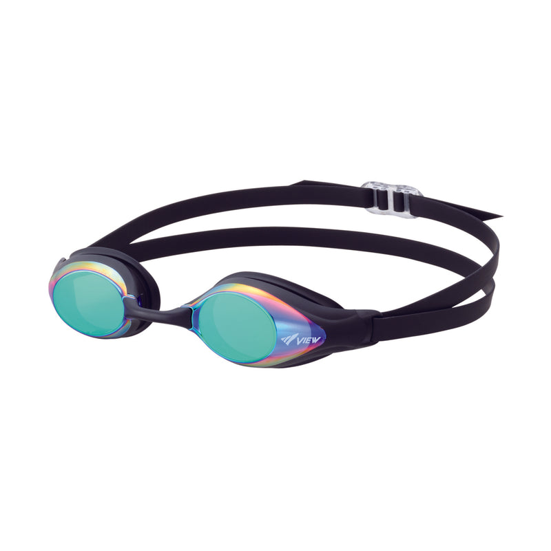 TUSA View Mirrored Shinari Racing Frame FINA Approved Goggles, Anti-Fog, Anti-UV