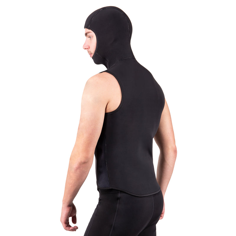 3mm Super Stretch Neoprene Hooded Vest