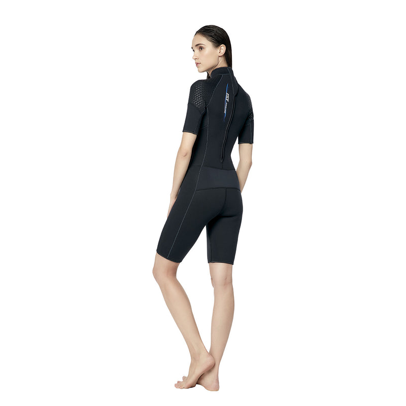 IST WS35 3mm Shorty with Super-Stretch Armpit Panels for Women