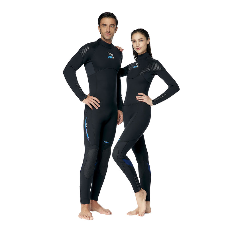 IST WS807 7mm Premium Diving Jumpsuit with Super-Stretch Panels for Women