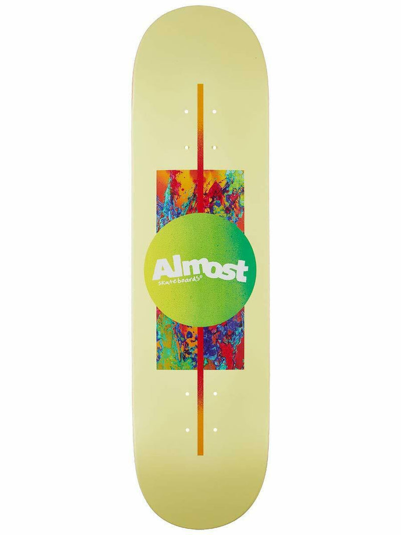 "Almost Gradient Yellow 8.125"" Skateboard Deck"