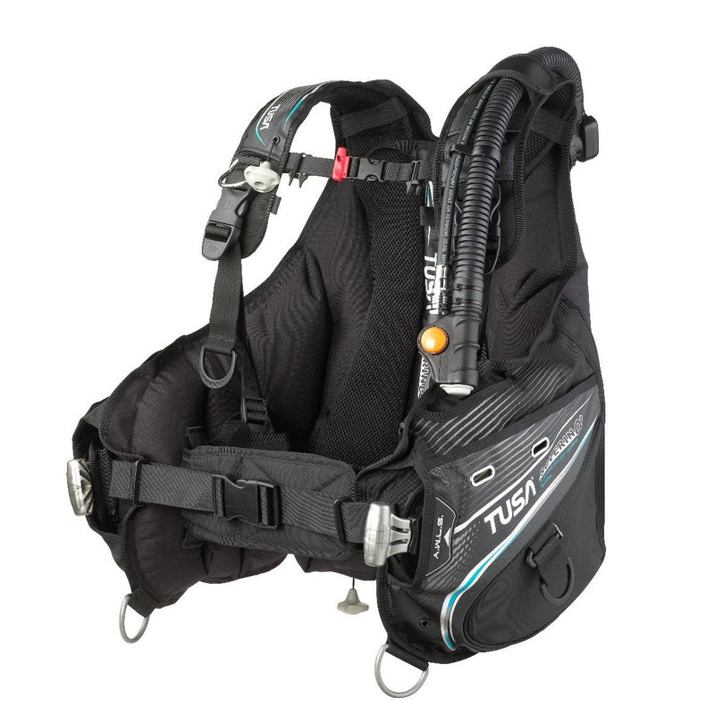 TUSA Soverin α Jacket BCD with AWLS III and Personal Harness System