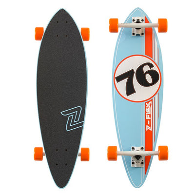 Z Flex GT Blue/Burnt Orange Mini Pintail