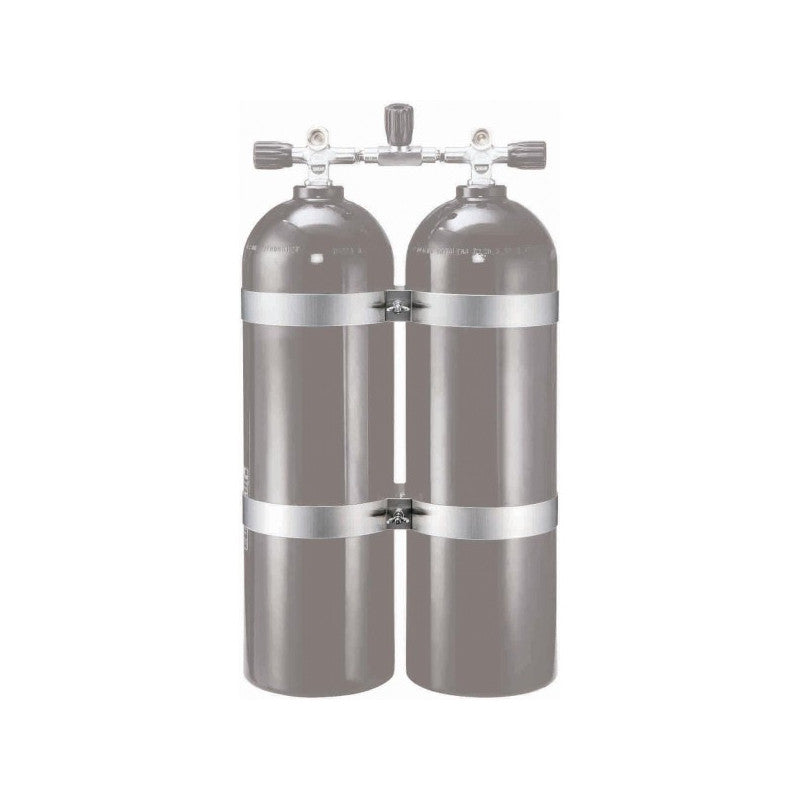 Dolphin Tech Twin Tank Band Set for 8 Inch Cylinders