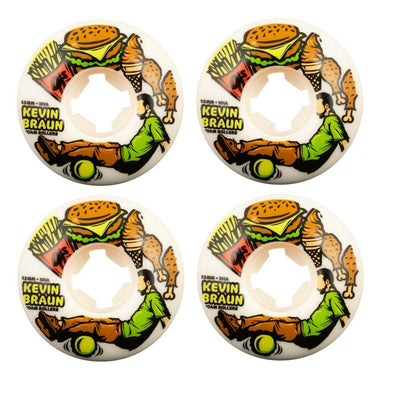 OJ 53mm 101a Kevin Braun Foam Rollers Skateboard Wheels
