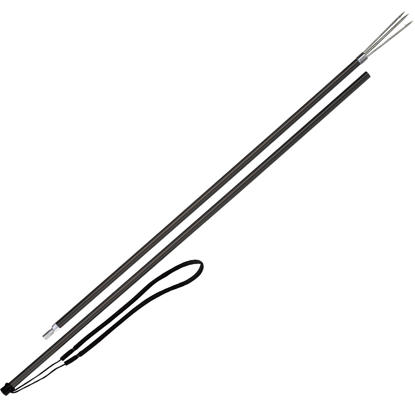 IST Aluminum 2 Segment Pole Spear with 3-Prong Paralyzer Tip