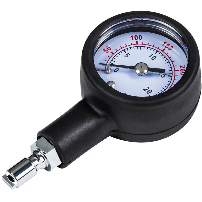 IST Ruggedized Intermediate Pressure Checker with BC Hose Connector