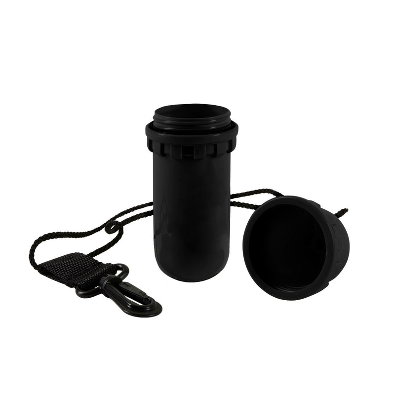 Easy Grip Dry Canister with Hang Cord and Swivel Clip, Small