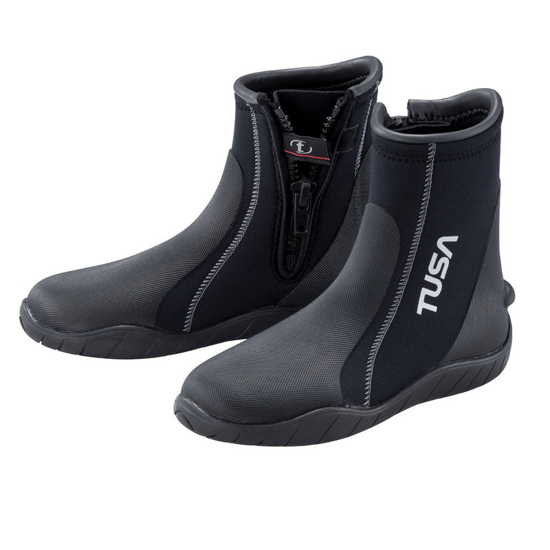 TUSA Imprex 5mm Nylon II Neoprene High Cut Dive Boot with Traction Sole