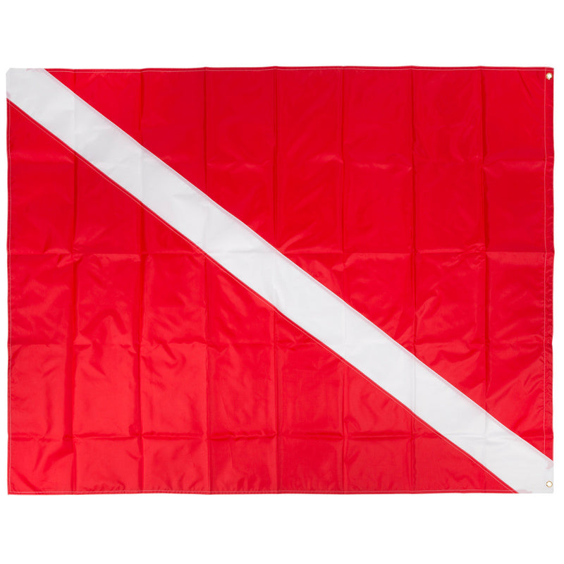 Trident 48 x 60 Inch Diver Down Flag, Multi Panel Construction