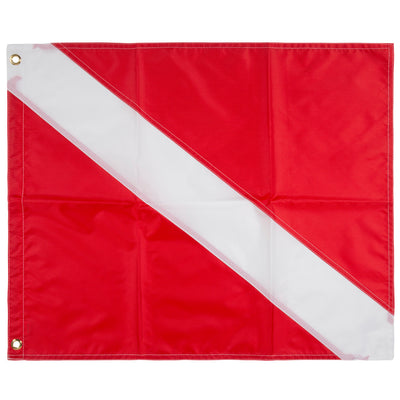 Trident 20 x 24 Inch Diver Down Flag, USCG Regulation Size