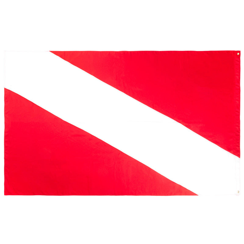 60 x 96 Inch Diver Down Flag, Multi Panel Construction