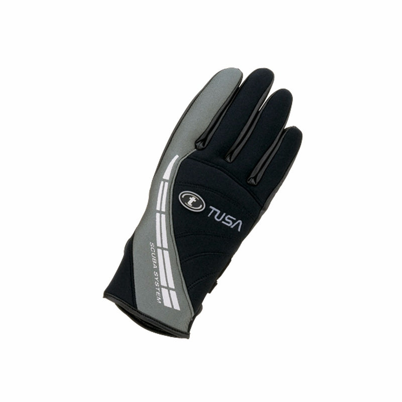 TUSA 2mm Super Stretch Neoprene Warm Water Gloves with Grip Surfaces