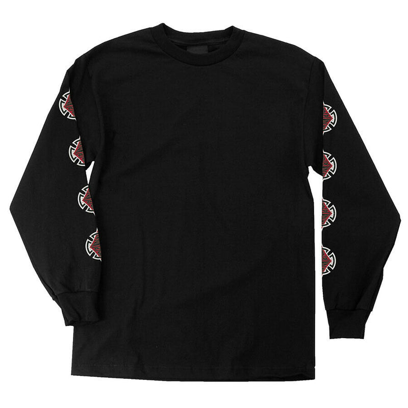Independent Men's Diamond Cut Long Sleeve T-Shirt