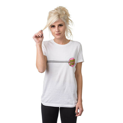 Santa Cruz Women's Other Dot S/S Fitted Crew T-Shirt