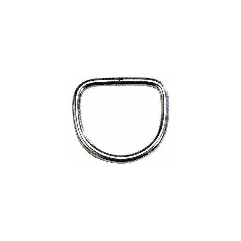 IST DR-5 8mm Thick 304 Stainless Steel Flat D-Ring