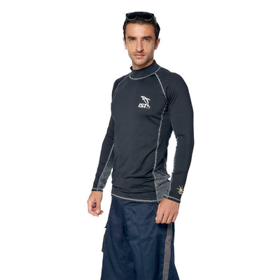 IST DS-46 Unisex Long Sleeve Spandex Rash Guard