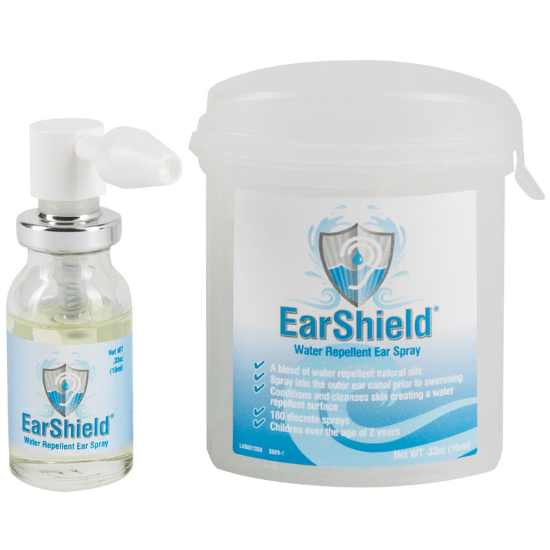 EarShield® Water Repellent Ear Spray, Gentle Biodegradable Oil Blend