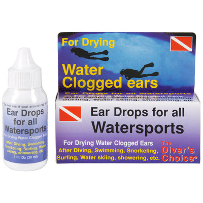 Trident Ear Drops to Dry Water Clogged Ears, Prevent Swimmer's Ear