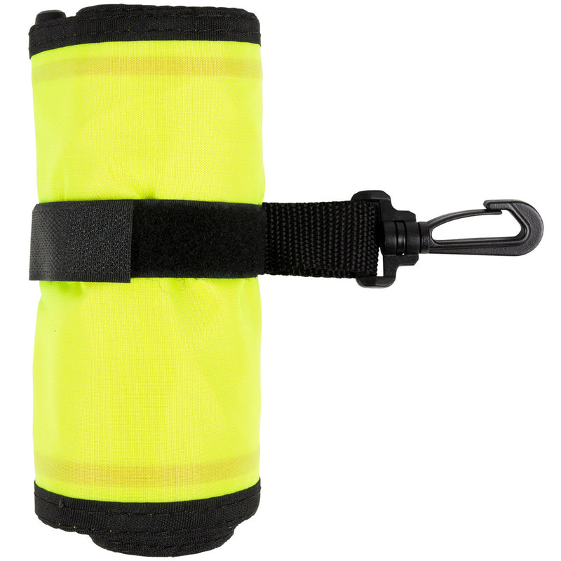 45 Inch Two Color Diver Below Surface Marker Buoy, Oral Inflate Valve