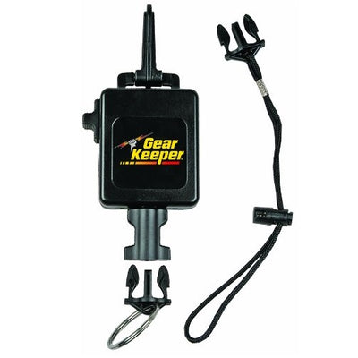 Gear Keeper® Deluxe Locking Console Retractor with Extra Lanyard