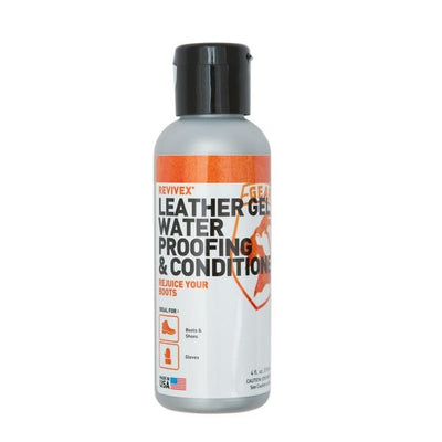 Gear Aid® ReviveX® Leather Gel Water Repellent and Conditioner