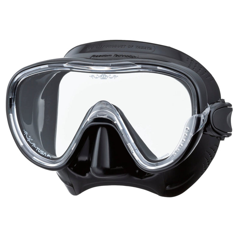 TUSA Tina Low Volume Scuba, Snorkel Mask, Quick Adjust Buckles