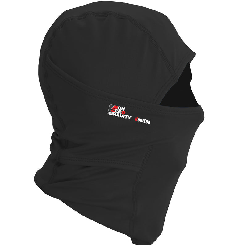 black thermal balaclava for cycling