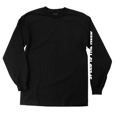 OJ SITN Men's Black Long Sleeve T-Shirt