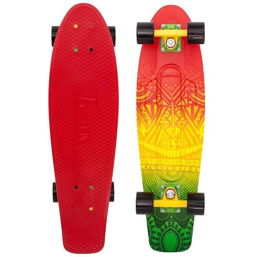 Penny 27 Inch Plastic Waffle Top Mini Cruiser: Vibes