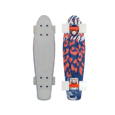 Penny 22 Inch Plastic Waffle Top Mini Cruiser: After Dark