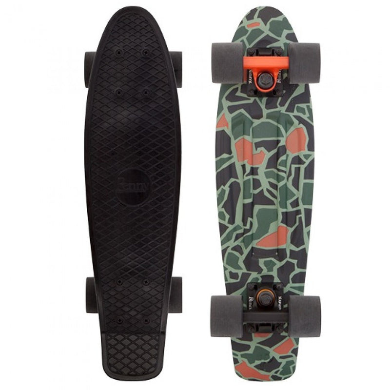 Penny 22 Inch Plastic Waffle Top Mini Cruiser: Not So Camo