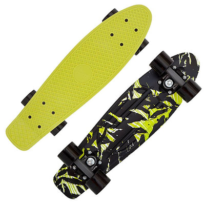 Penny 22 Inch Plastic Waffle Top Mini Cruiser: Shadow Jungle