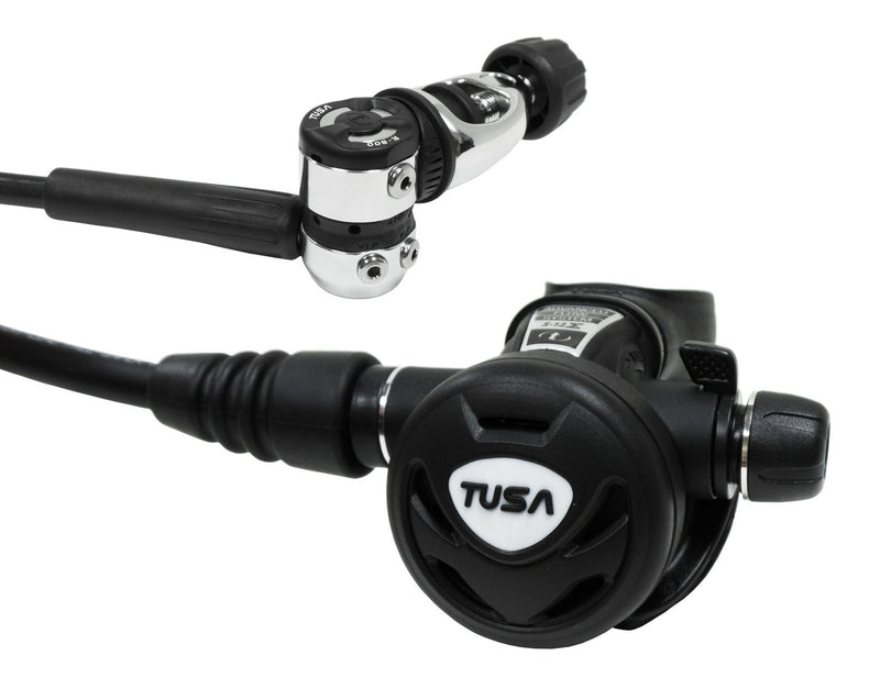 TUSA Balanced Piston Yoke Regulator with AFS, Control Knob, Swivel Hose