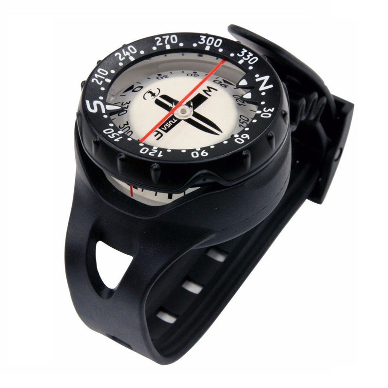 TUSA Platina Wrist Mount Luminous Compass with Side View Window