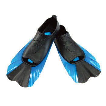 Stumpy Short Bladed Fins for Swim Training, Pool Exercise