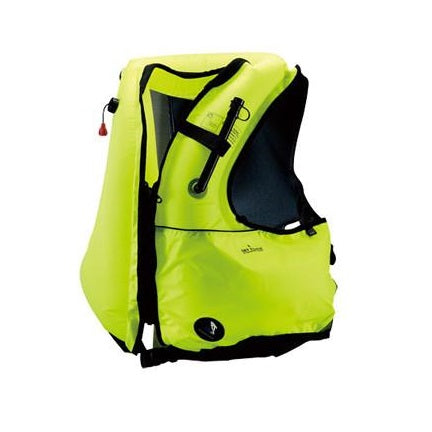 IST Adult Snorkel Vest with Oral Inflate Valve and Dry Pouch