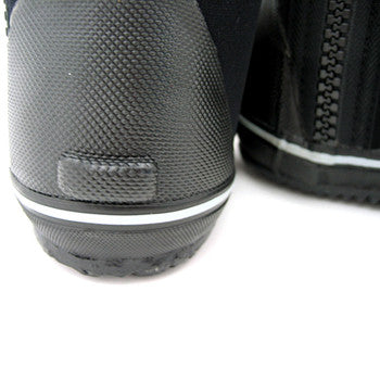 6.5mm Titanium / Spandex Lined Diving Boots with Vulcanized Rubber Sole