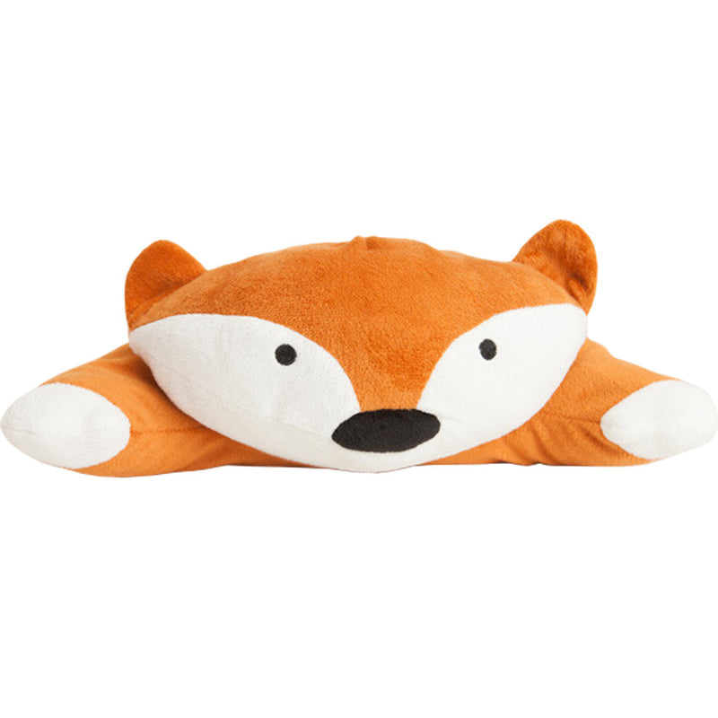 SMOKO Wireless Heated Plush Fox Pillow with Rechargeable Battery Pack
