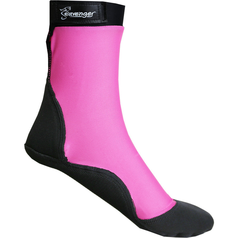 tall pink beach socks