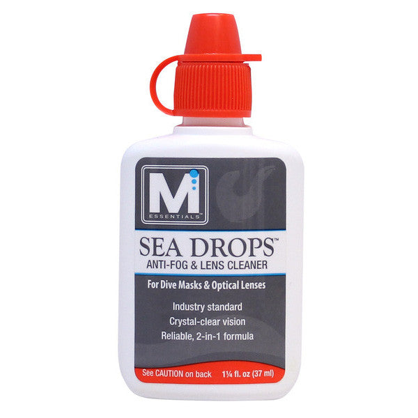 Sea Drops™ Anti-Fog and Lens Cleaner for SCUBA and Watersports Masks