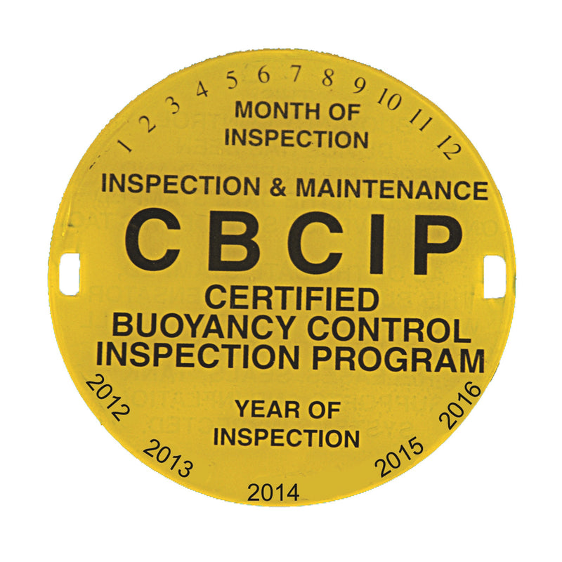 BCD Inspection Tag