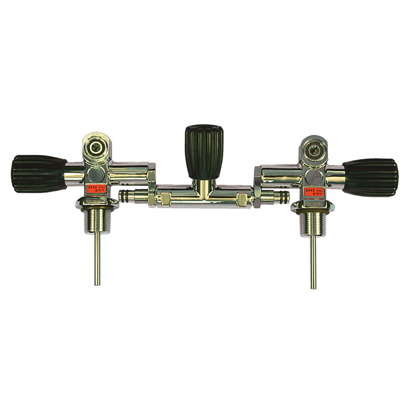 Dual A196 Valves w/Isolation Cut-Off - 3442psi