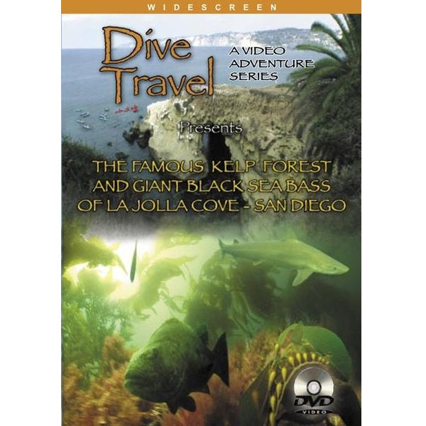 Dive Travel Dvd Lajolla Cove San Diego