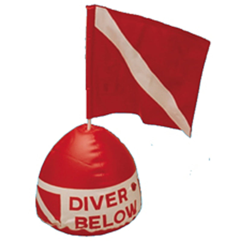 Replacement Flag for Trident Flag-N-Float Diver Below Inflatable Buoy