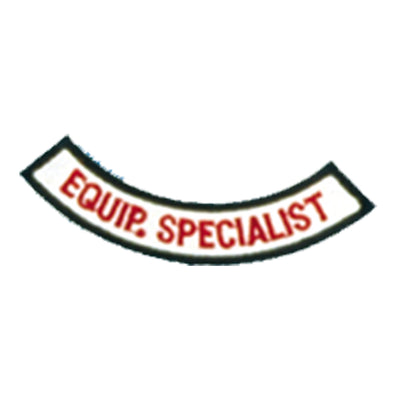 Equipment Specialist Chevron Patch