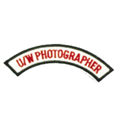 Underwater Photographer Chevron Patch