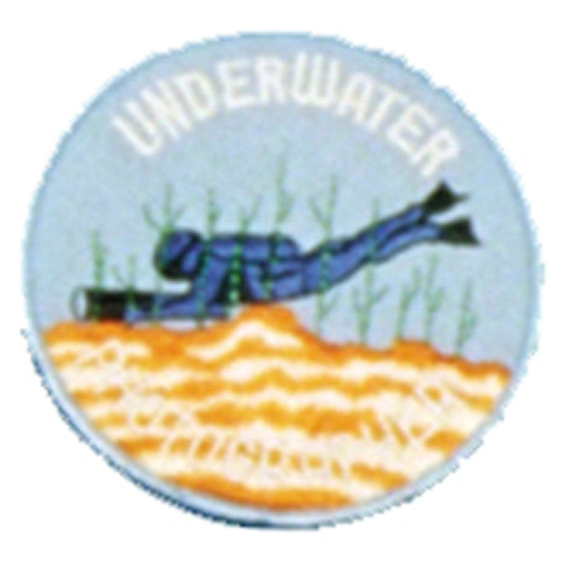 Underwater Photographer Patch